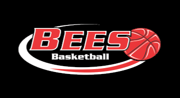 Bees Boys Basketball Logo - Black